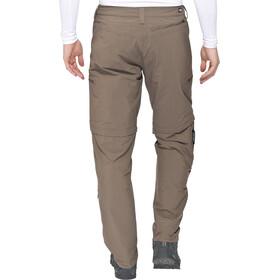The North Face Exploration Pantalon convertible avec fermeture éclair Long Homme, weimaraner brown